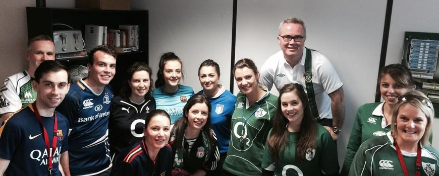 GOAL jersey day at Hayes by Hayes News